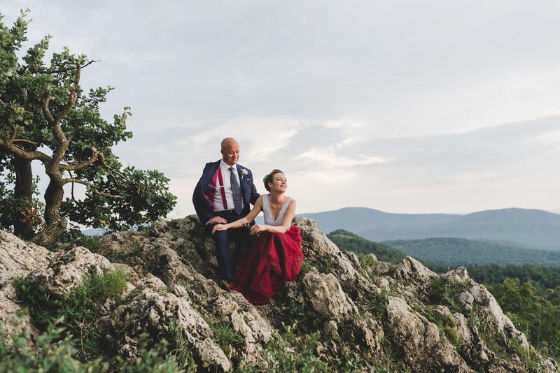 Irish-Hungarian Outdoor Wedding