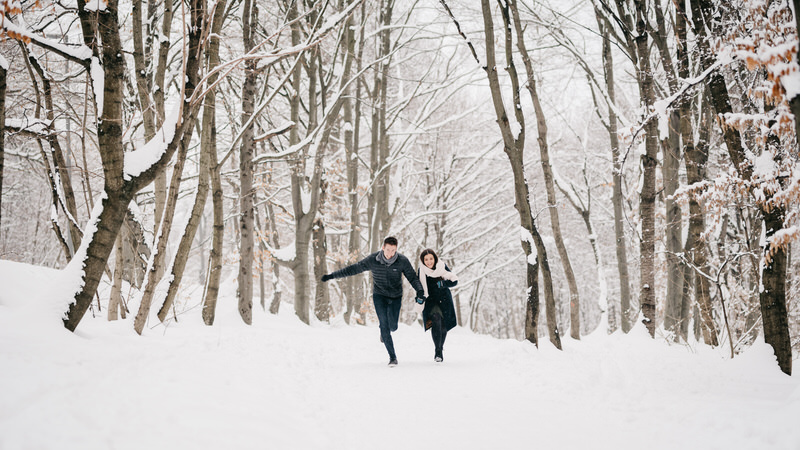 Hopelessly Romantic, Snowy Engagement