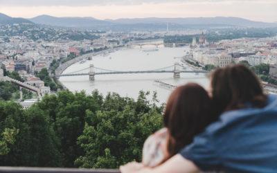 Dutch-Hungarian Romantic Budapest Engagement
