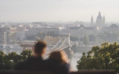 Nóri + Andris Passionate Budapest Sunrise Session